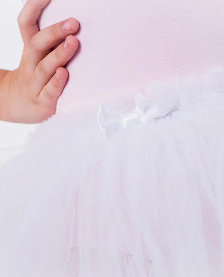 Child's Three Layer Dance Tutu WHITE
