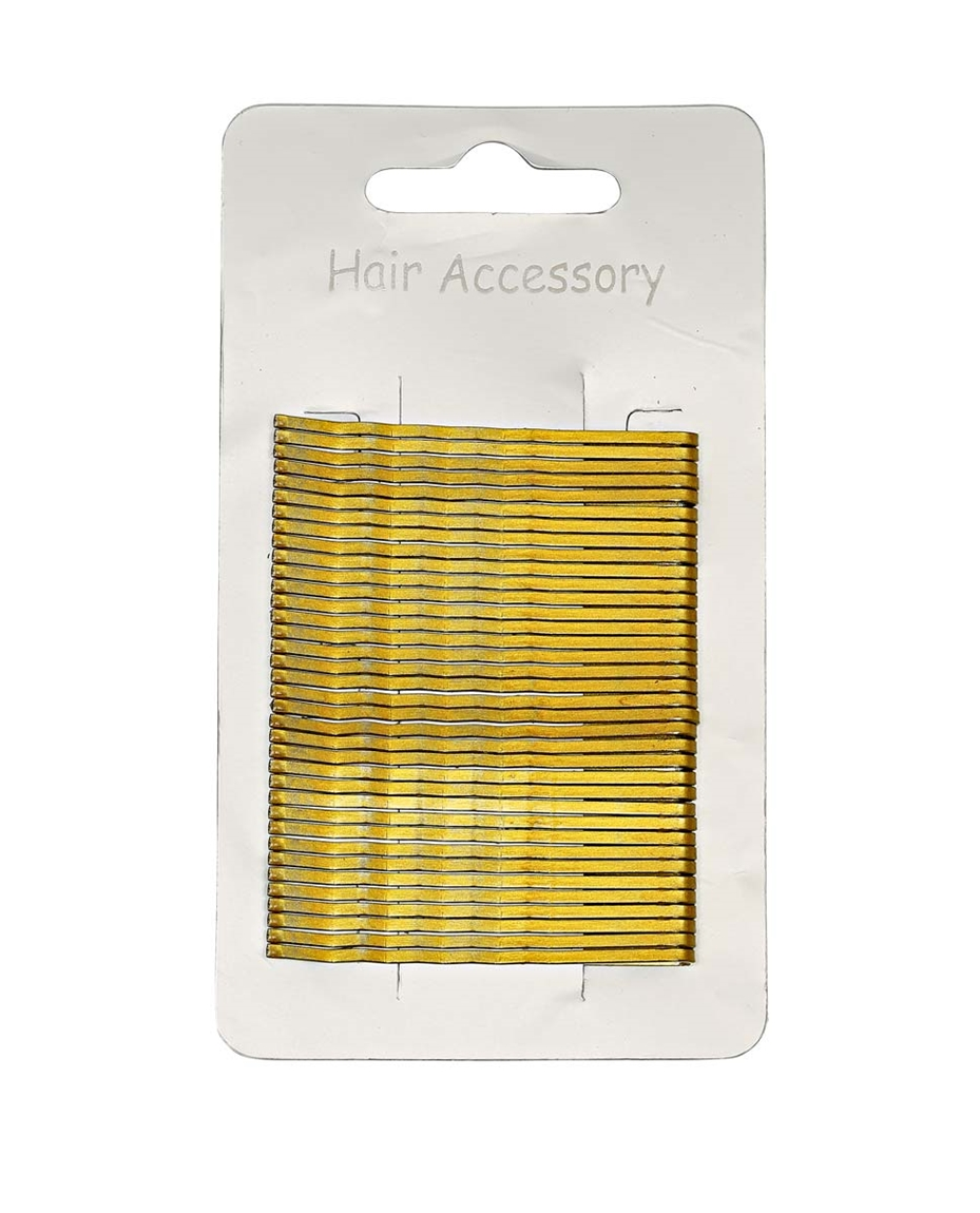 7cm Waved Hairgrips Blonde