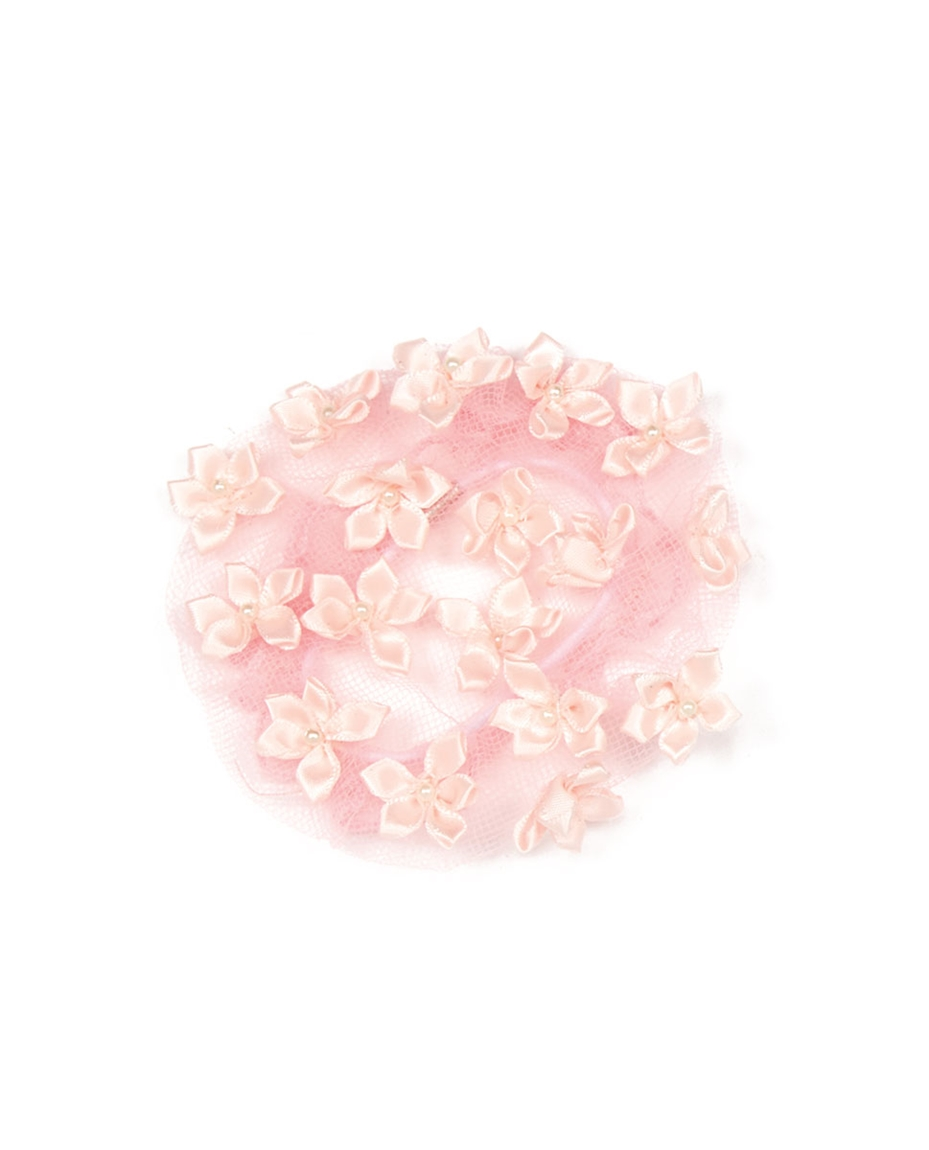Flowers Bun Cover PINK