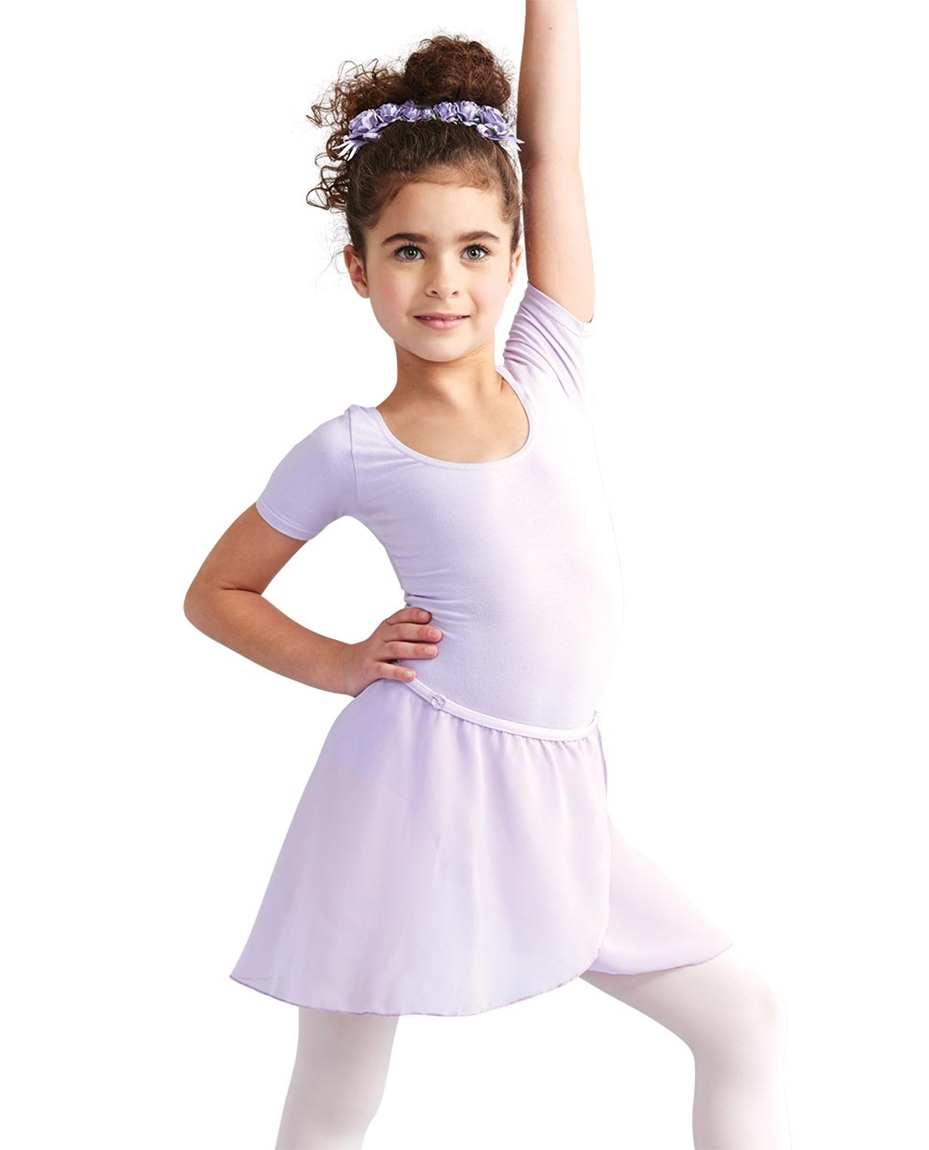 Child Chiffon Wrap Skirt LAVENDER
