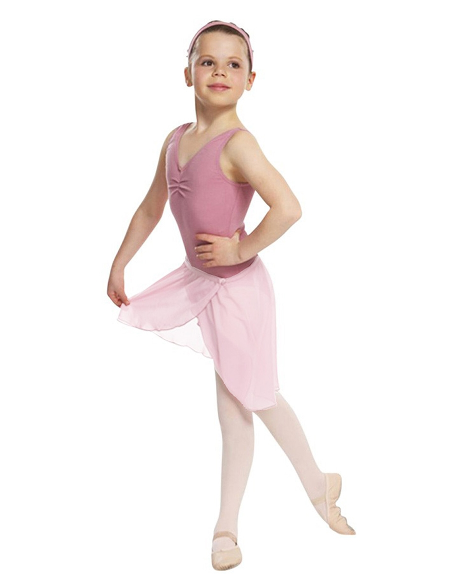 Childs Chiffon Ballet Dance Wrap Skirt PINK