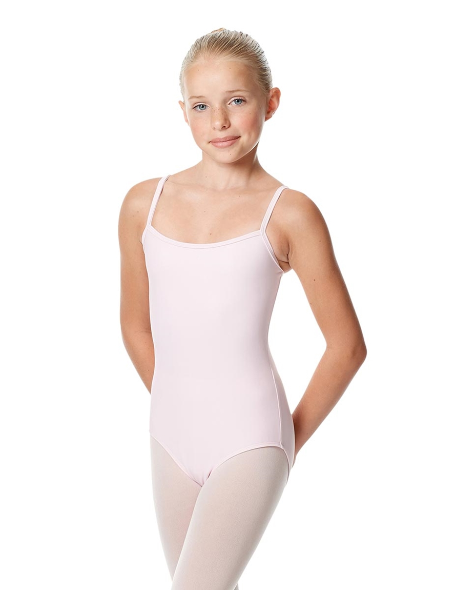 Girls Camisole Dance Matte Leotard Oriane