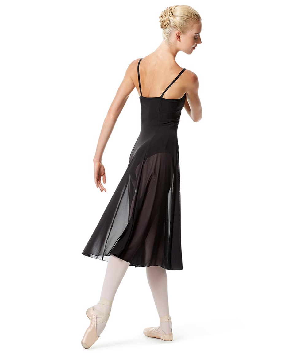 Womens Camisole Long Dance Dress Leily