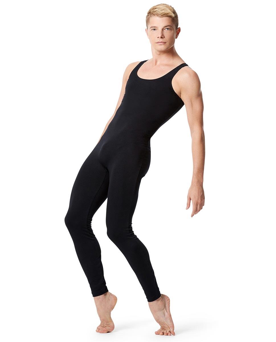 Men/'s ballet cotton dance wear short sleeved unitard