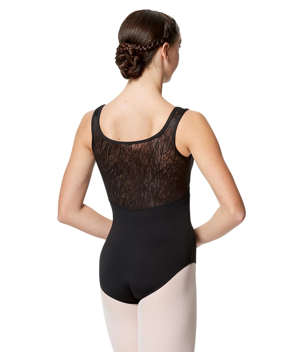 Geo Mesh Tank Leotard Adeline For Women