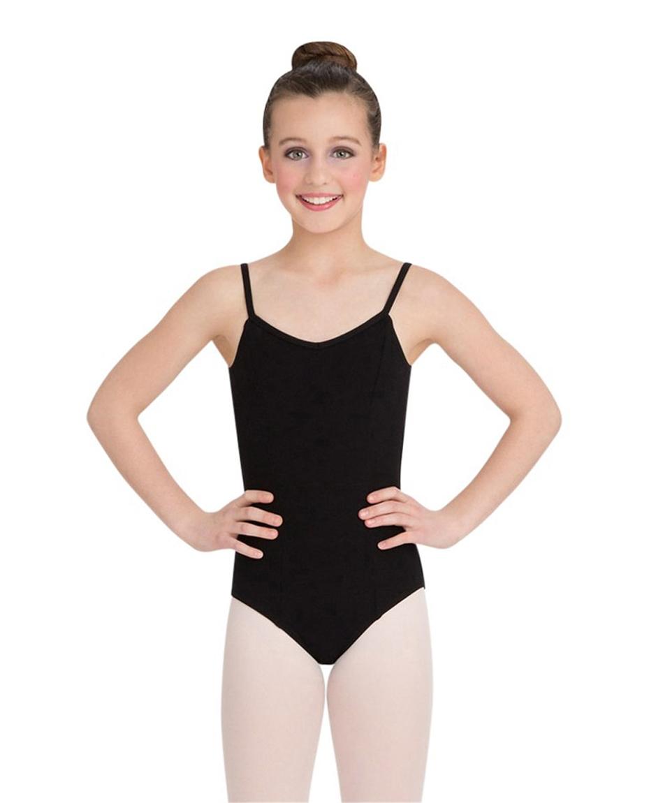 Child Princess Seams Camisole BLACK