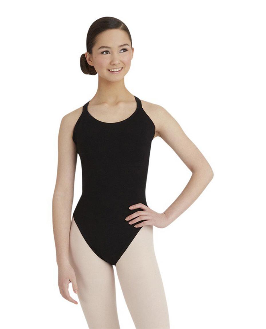 Camisole Strap Ballet Leotard BLACK