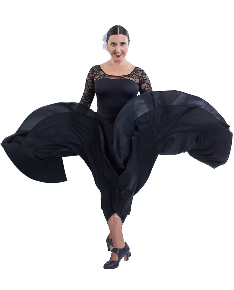 Womens Full Circle Flamenco Skirt