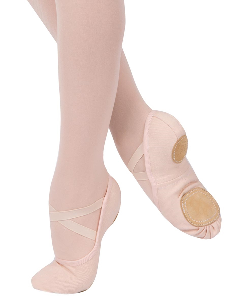 Stretchy Canvas Split Sole Ballet Slippers
