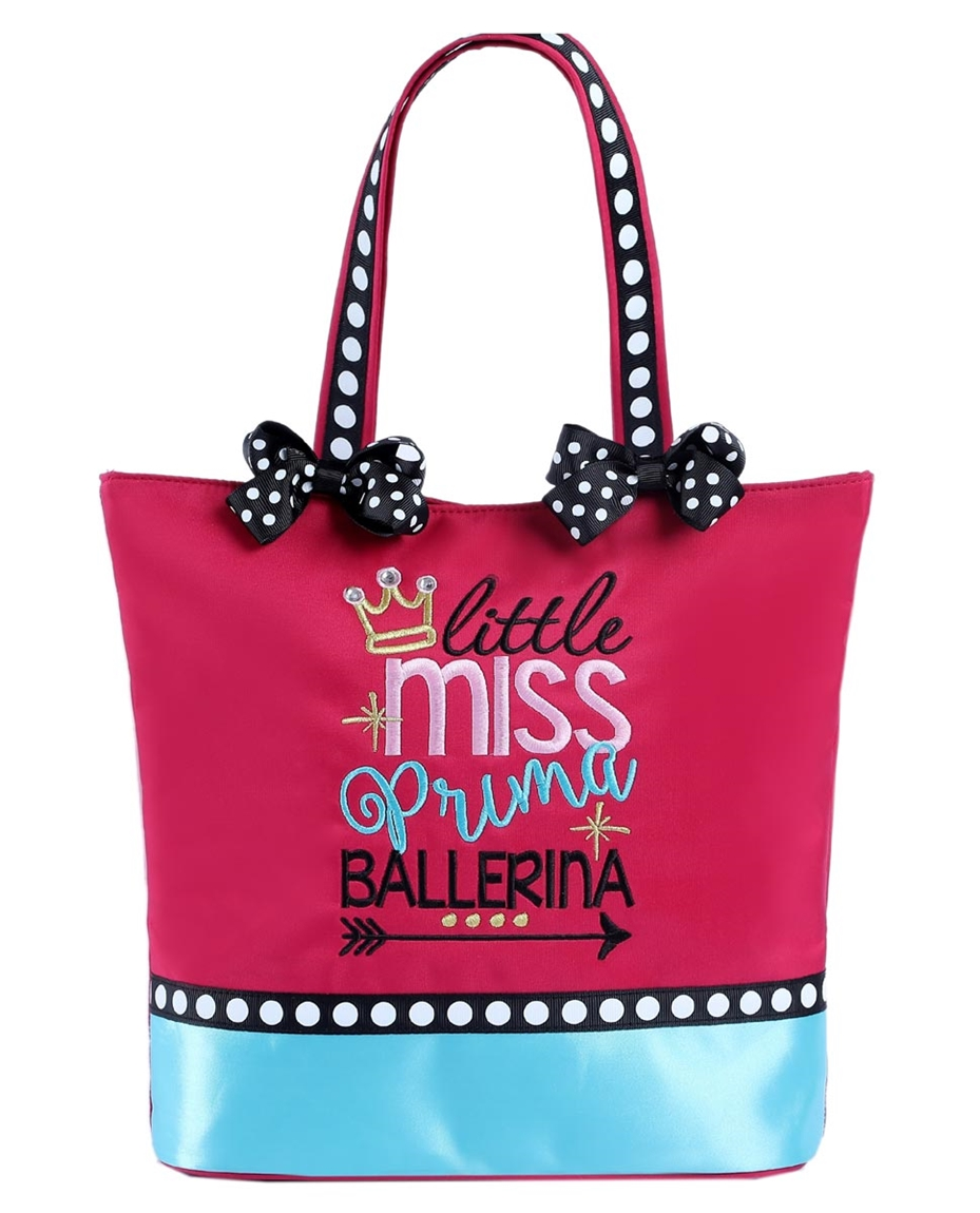 Little Miss Prima Ballerina - Small Dance Tote