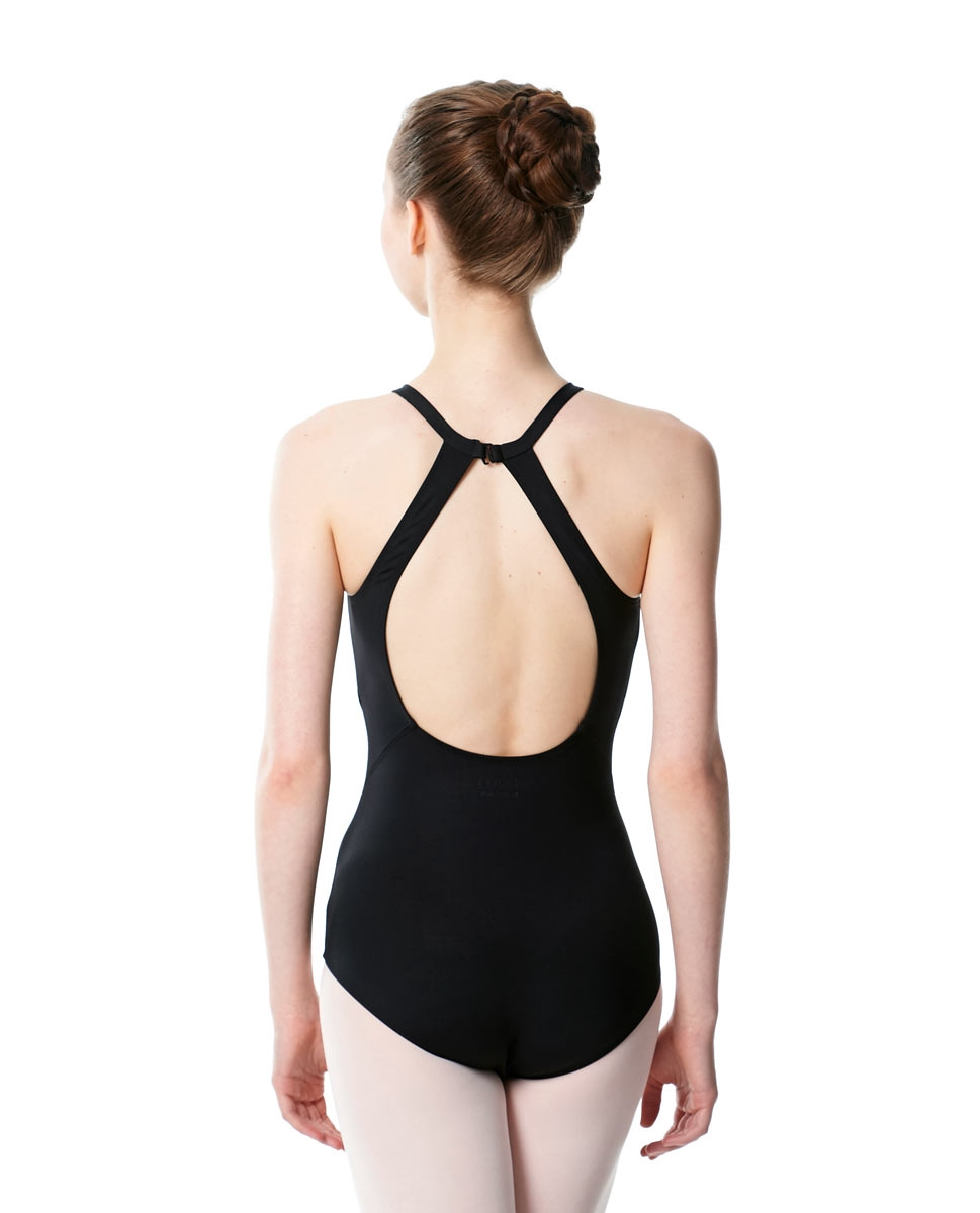 High Neck Tank Dance Leotard Ivana