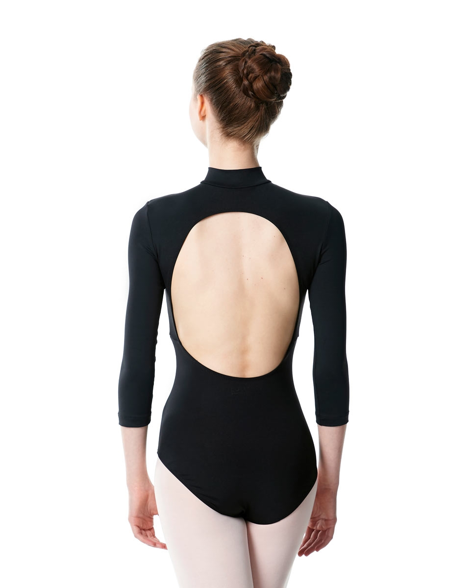 Long Sleeve Zipper Dance Leotard Eliana