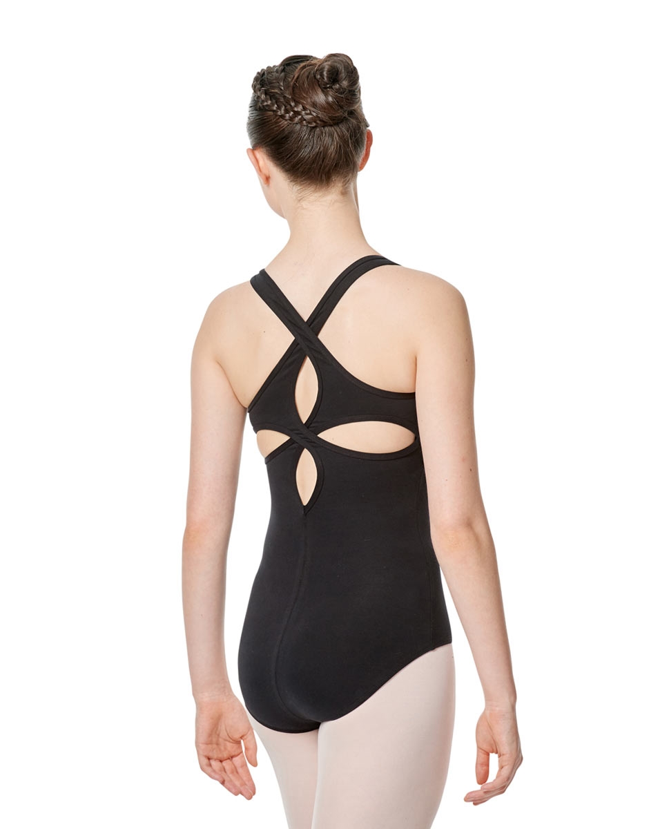 Twist Back Dance Leotard Stella
