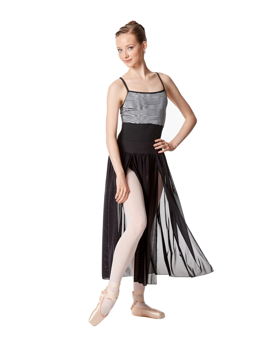 Adult 2 Sides Slit Dance Skirt Keira