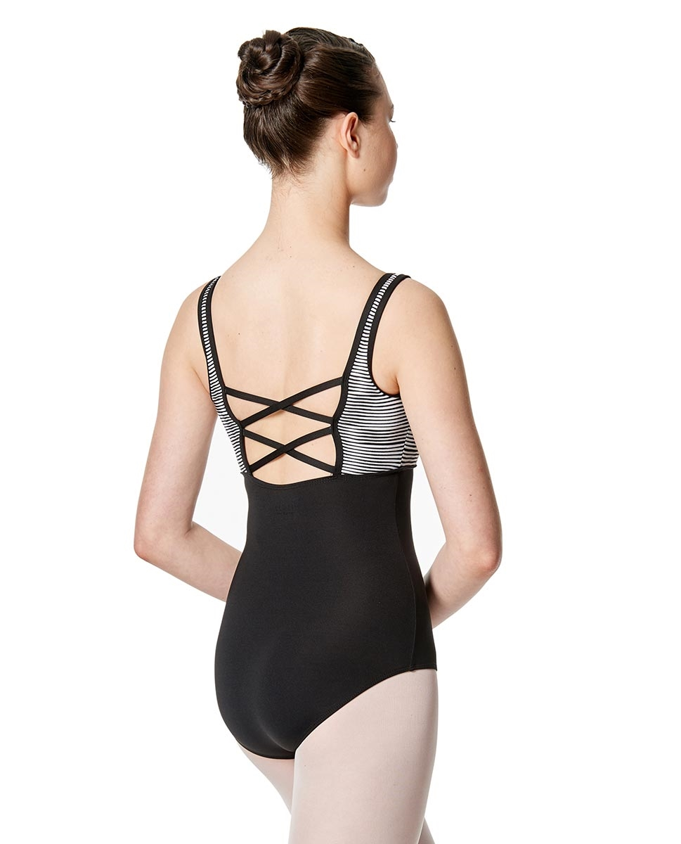 Women Strappy Back Tank Leotard Estelle