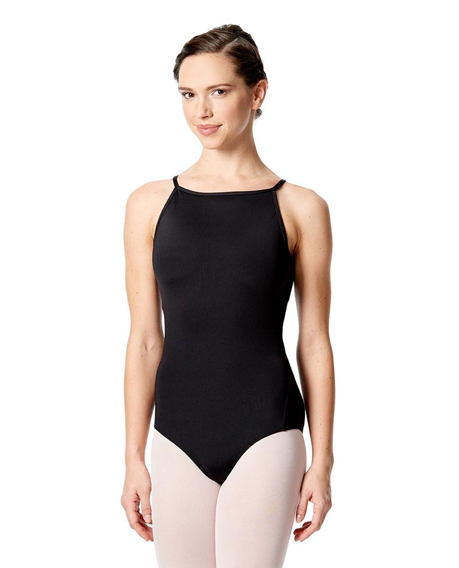Womens Zip Back Lace Dance Leotard Sonia