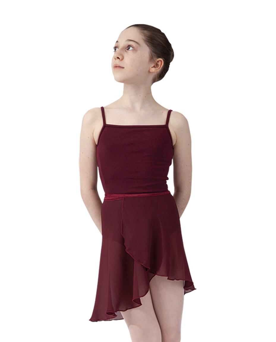 Girls ballet wrap skirt_BUR