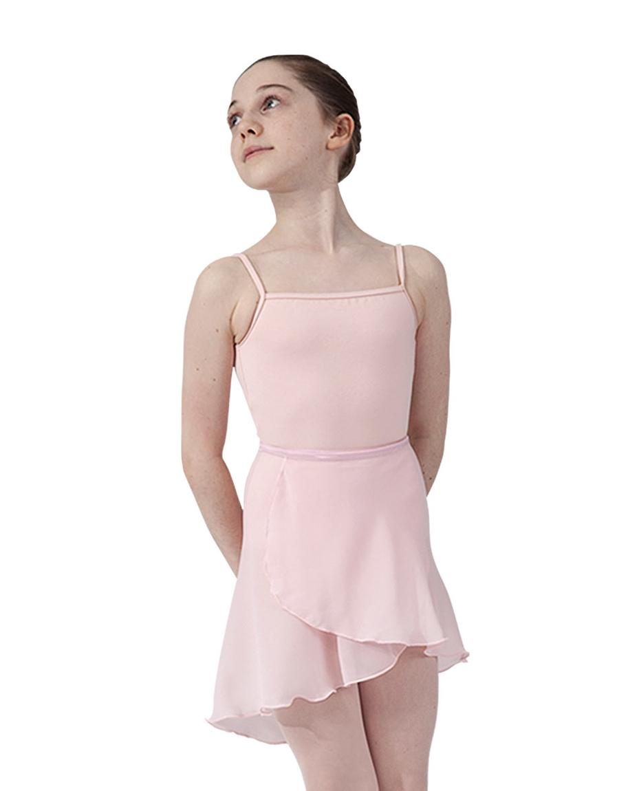 Girls ballet wrap skirt_PNK