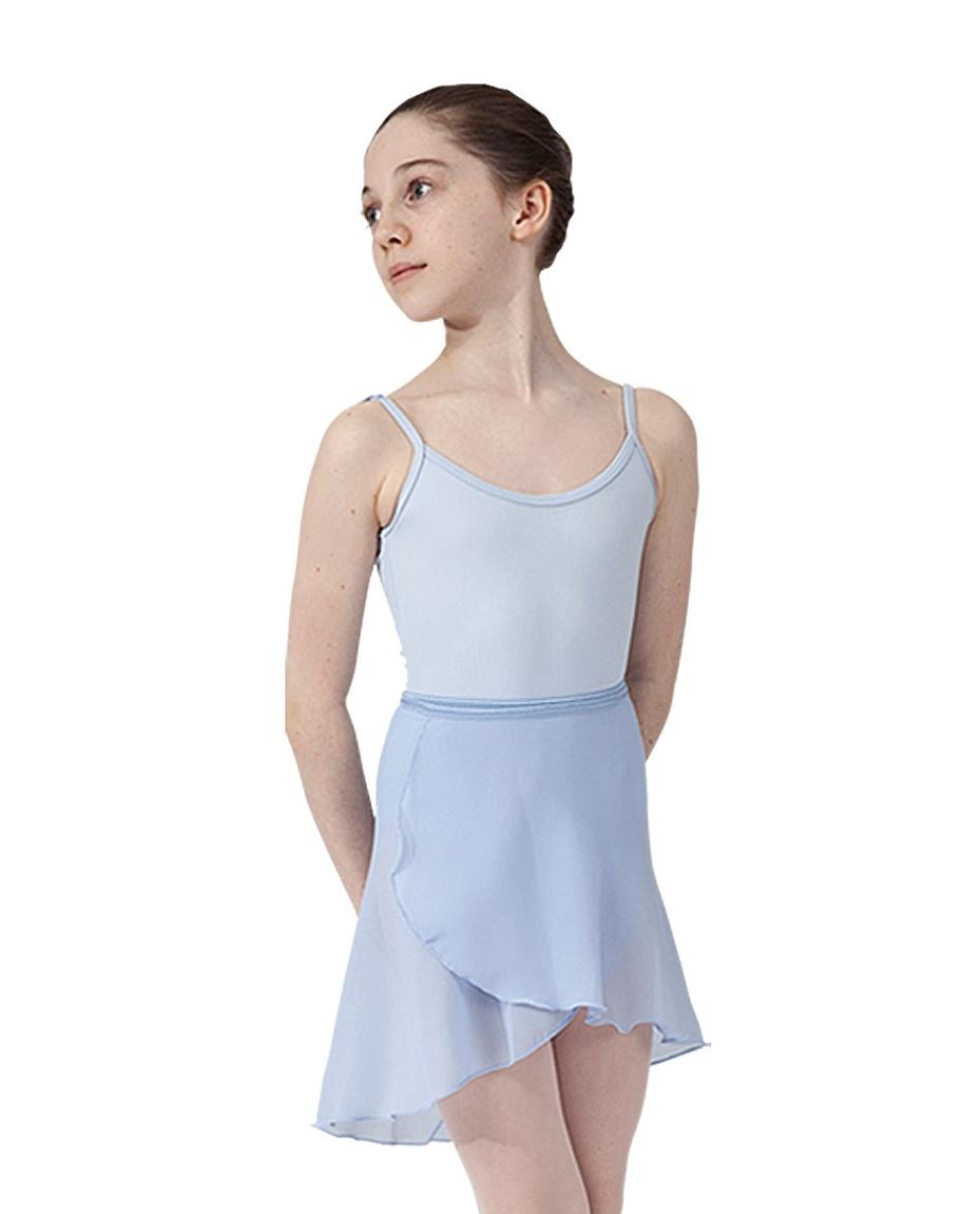 Girls ballet wrap skirt_SKY