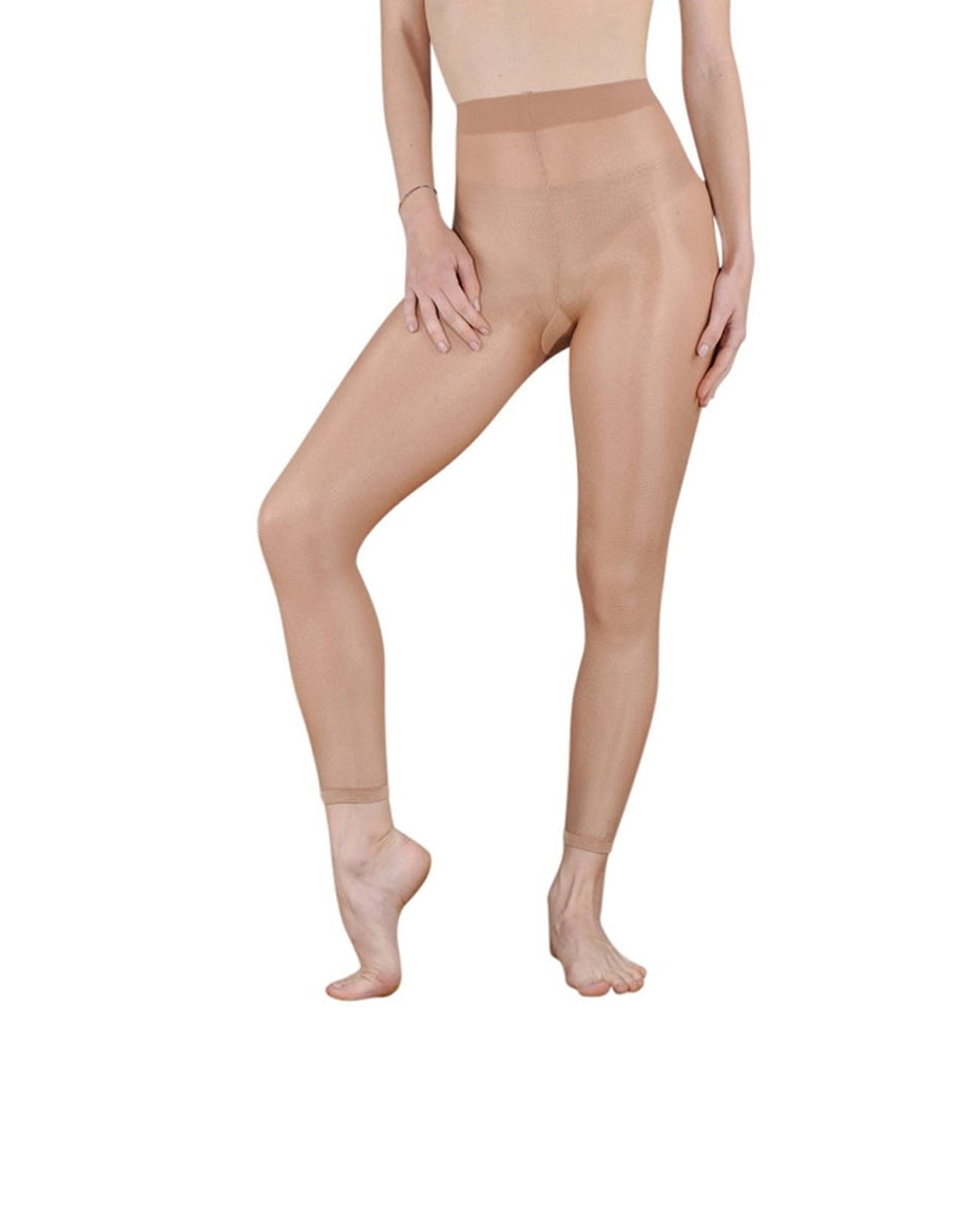 Women Footless Ultra Shimmery Dance Tights 70 Den