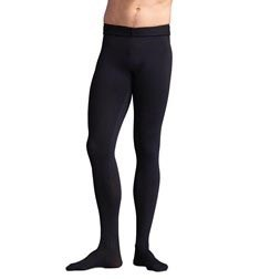 Mens Soft Tactel Footed Ballet Dance Tights