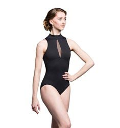 Womens Mock Neck Dance Leotard Eve