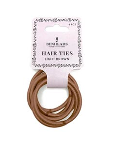 Metal-Free Hair Elastics 6-Pack