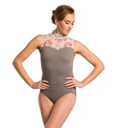 Adult Sweetheart Mock Neck Dance Leotard Emma