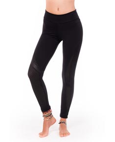 Women Activewear Microfiber Leggings