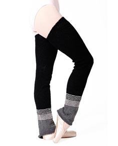 Knitted Acrylic Legwarmers 90cm