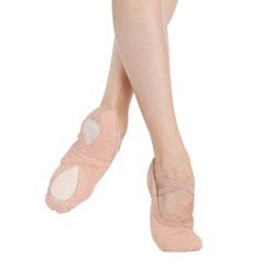 Unisex Split Sole Canvas Ballet Shoes