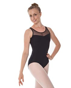 Women Lace Back Dance Leotard