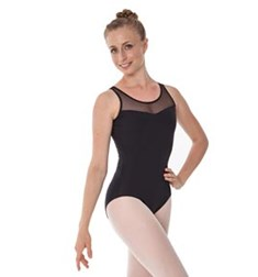 Women Lace Back Tank Dance Leotard