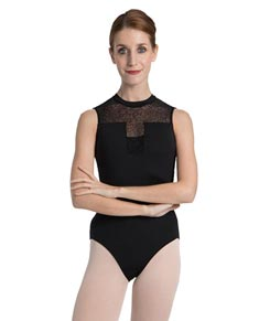 Women Mesh Dance Leotard