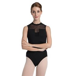Women Mesh Tank Dance Leotard