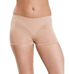 Womens Nude Shaping Seamless Dance Shorts