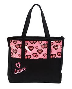 Glittery Heats Tote Dance Bag