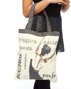 Elegant Handbag Dancer Tote