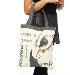 Elegant Handbag Dancer Tote