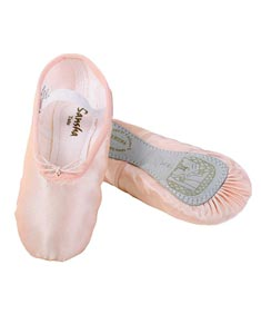 TUTU Satin Full Sole Pre-Sewn Ballet Shoes