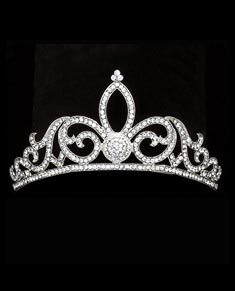Tiara With Rhinestones