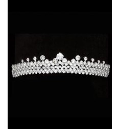 Low Profile Tiara With Stones