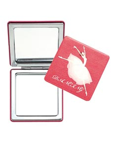 Ballerina Mini Makeup Mirror