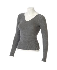 Knitted Long Sleeve Dance Sweater