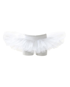 4 Layers Ballet Tutu Skirt With Pants