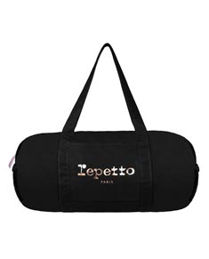 Black Canvas Large Duffle Dance Bag Glide
