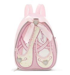 Childs Ballet Slippers Dance Backpack