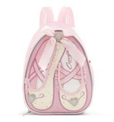 Childs Ballet Slippers Dance Backpack