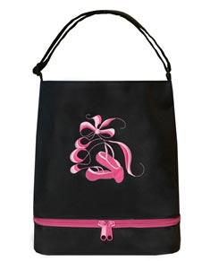 Black Ballerina Tote Dance Bag