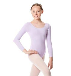 Child Long Sleeve Dance Leotard Martha